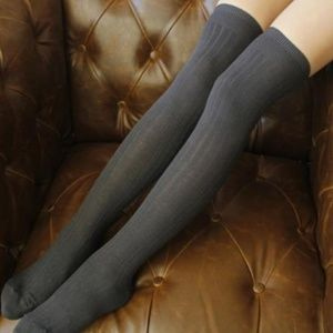 Miss Babydoll Accessories - ❤️NEW Sexy Knit Over the Knee Stockings #K15